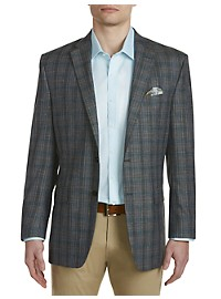 Ralph by Ralph Lauren Comfort Flex Plaid Sport Coat – Executive Cut