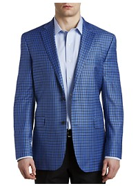 Jack Victor Check Wool Sport Coat