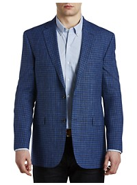 Jack Victor Textured Check Sport Coat