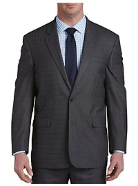 Geoffrey Beene Multi Grid Suit Jacket