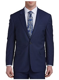 Geoffrey Beene Mini Check Suit Jacket