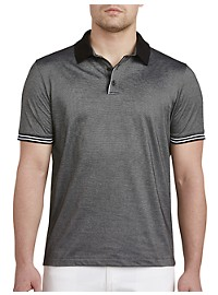 Perry Ellis Tipped Collar Polo