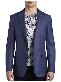 Robert Graham Windowpane Plaid Sport Coat