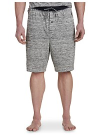 Nautica Space-Dye Sleep Shorts