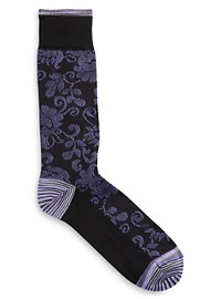 Robert Graham Kosmo Paisley Socks