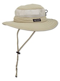 DPC by Dorfman Pacific Nylon Hat with Mesh Sides
