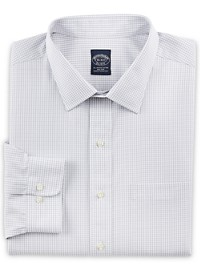 Brooks Brothers Non-Iron Double Mini Windowpane Dress Shirt