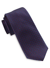 Michael Kors Small Stitched Neat Silk Tie