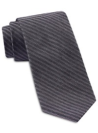Michael Kors Fine Heather Stripe Silk Tie