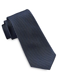 Michael Kors Mini Parallelogram Silk Tie