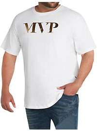 MVP Collections Gold Foil Logo T-Shirt