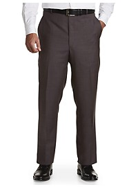 Ballin Comfort-EZE Sharkskin Dress Pants – Unhemmed