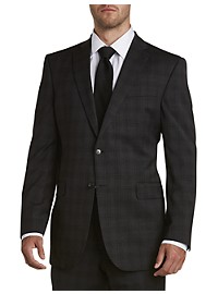 Jack Victor Reflex Tonal Plaid Suit Jacket