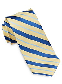 Robert Talbott Heathered Stripe Silk Tie