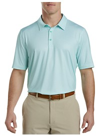 Cutter & Buck CB DryTec Print Polo Shirt