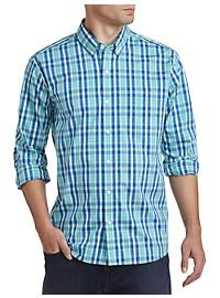 Cutter & Buck Carter Plaid Stretch Sport Shirt