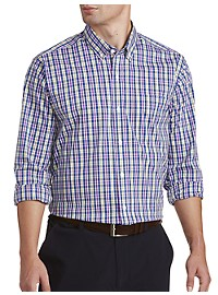 Cutter & Buck Anthony Plaid Stretch Sport Shirt
