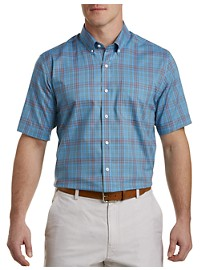 Cutter & Buck Easy-Care Issac Plaid Sport Shirt