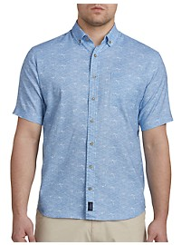 johnnie-O Cole Print Hangin' Out Sport Shirt