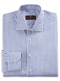 Robert Talbott Estate Stripe Poplin Dress Shirt