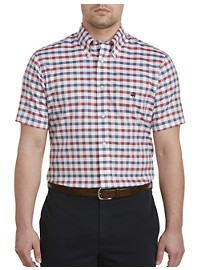Brooks Brothers Non-Iron Dobby Gingham Oxford Sport Shirt