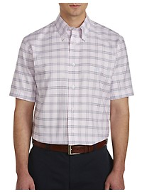 Brooks Brothers Non-Iron Grid Oxford Sport Shirt