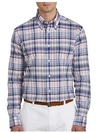 Brooks Brothers Madras Plaid Sport Shirt