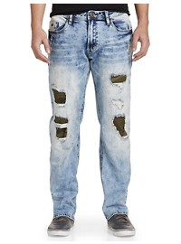 Buffalo David Bitton Ripped Stretch Jeans