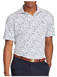 Polo Ralph Lauren Classic Fit Floral Print Soft Touch Polo Shirt