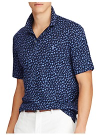 Polo Ralph Lauren Classic Fit Soft-Touch Print Polo Shirt