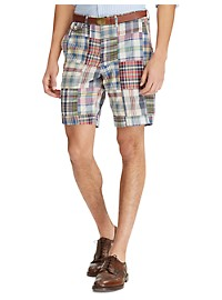 Polo Ralph Lauren Classic-Fit Stretch Madras Plaid Shorts