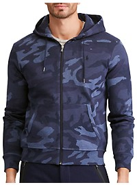 Polo Ralph Lauren Camo Double-Knit Full-Zip Hoodie