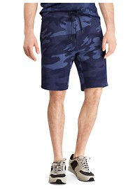 Polo Ralph Lauren Camo Print Double-Knit Active Shorts