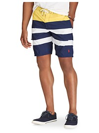 Polo Ralph Lauren Kailua Stripe Swim Trunks