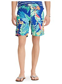 Polo Ralph Lauren Kailua Jungle Print Swim Trunks