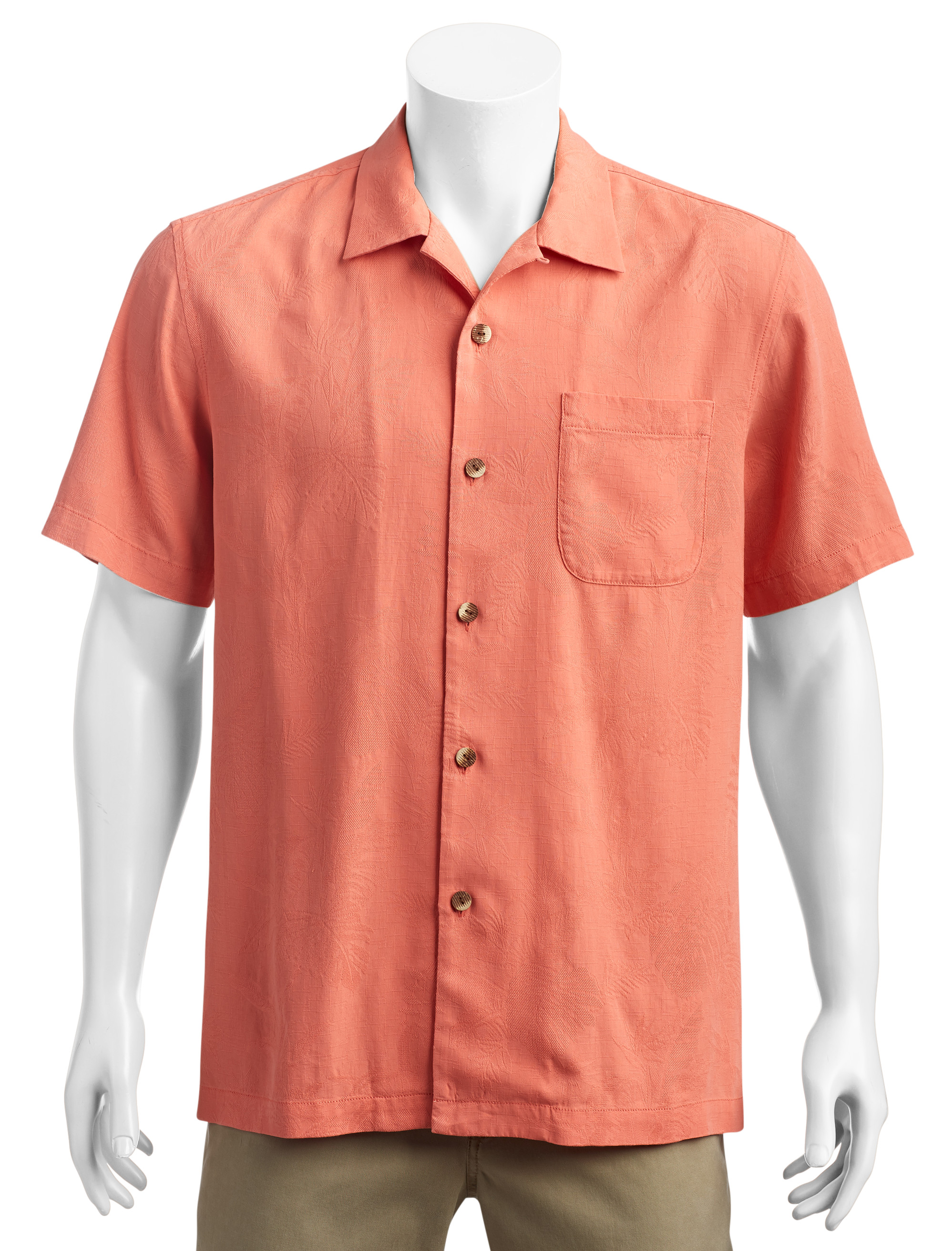 Tommy Bahama® St. Lucia Fronds Silk Camp Shirt