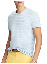 Polo Ralph Lauren Classic Fit Stripe V-Neck T-Shirt