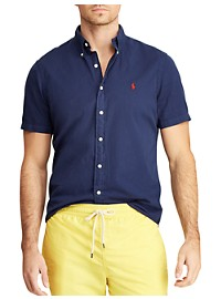 Polo Ralph Lauren Classic Fit Garment-Dyed Twill Sport Shirt