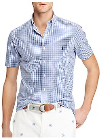 Polo Ralph Lauren Classic Fit Gingham Seersucker Sport Shirt