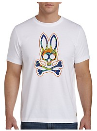Psycho Bunny Colorful Bunny Graphic Tee