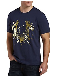 True Religion Metallic Shatter Graphic Tee