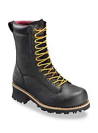 "Avenger 8"" Waterproof Logging Boots"