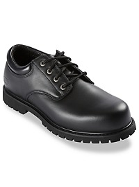 Skechers Relaxed Fit Oxford Work Shoes
