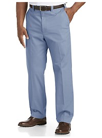 Oak Hill Straight-Fit Waist-Relaxer Stretch Twill Pants