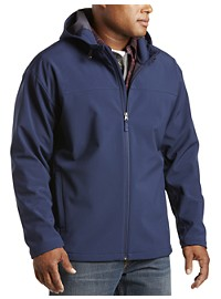 Harbor Bay Hooded Bonded Fleece Jacket
