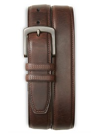 Harbor Bay Double Loop Leather Belt