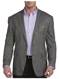 Oak Hill Jacket Relaxer Black/White Textured Sport Coat – Executive Cut