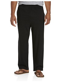 Harbor Bay Open-Hemmed Jersey Pants