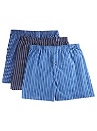 Harbor Bay 3-pk Stripe Woven Boxers