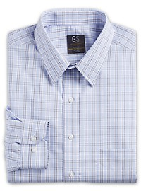 Gold Series Wrinkle-Free Cool & Dry Large Check Dress Shirt
